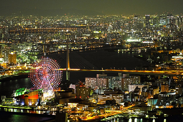 Osaka Bay Night